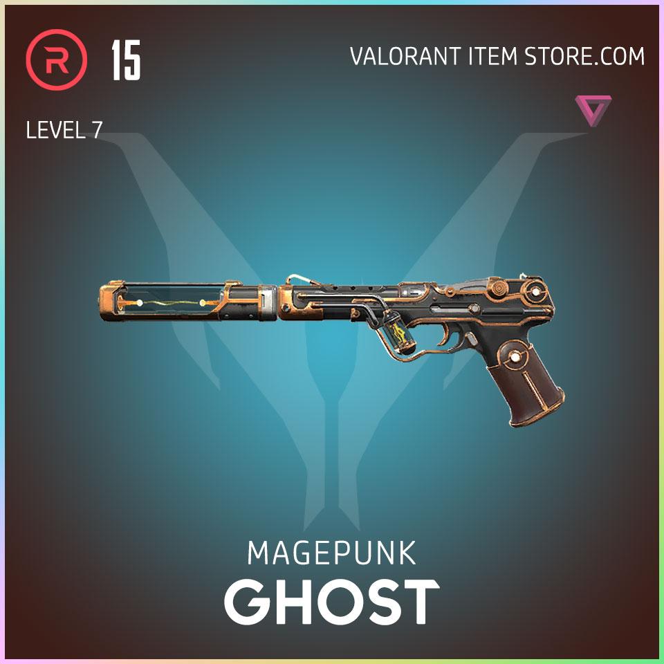 Magepunk Ghost valorant skin 7