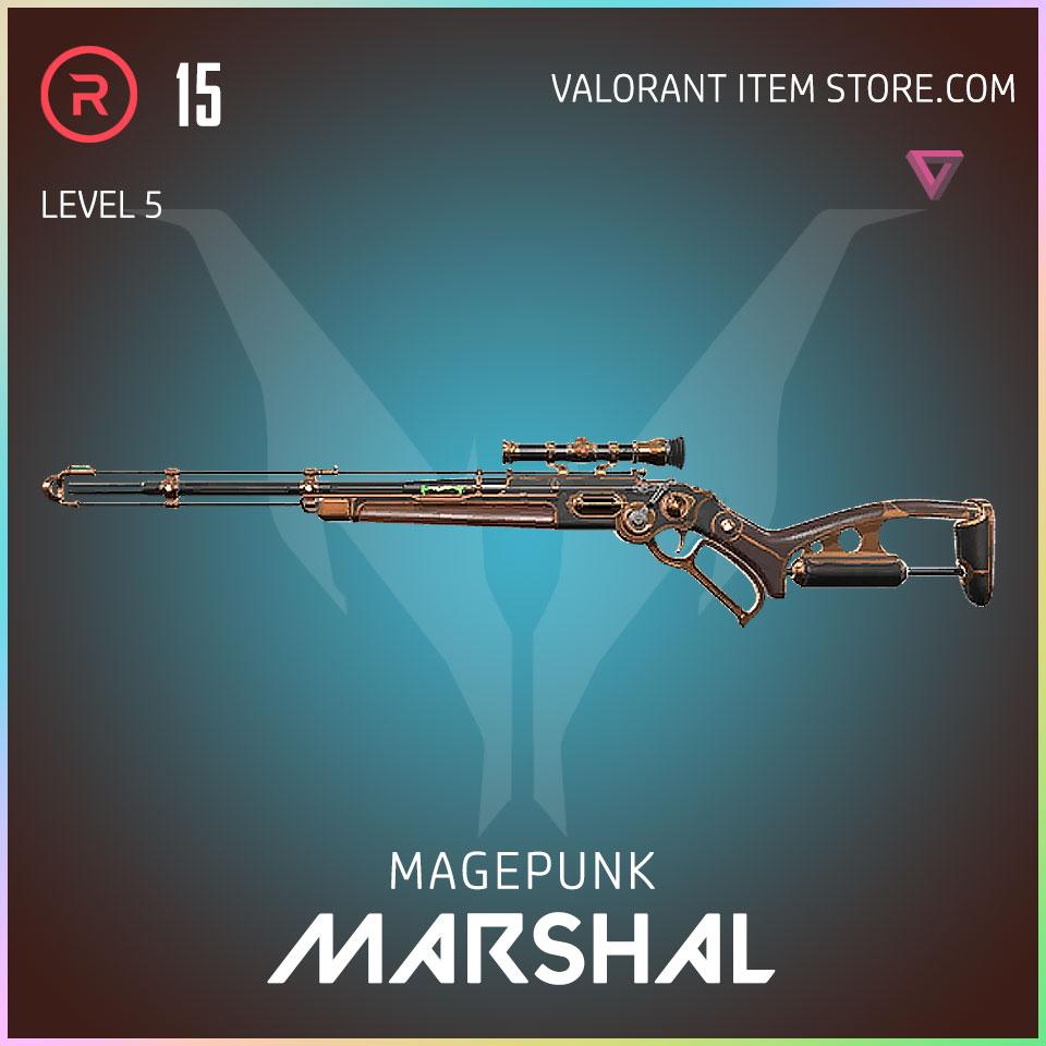 magepunk marshal valorant skin 5