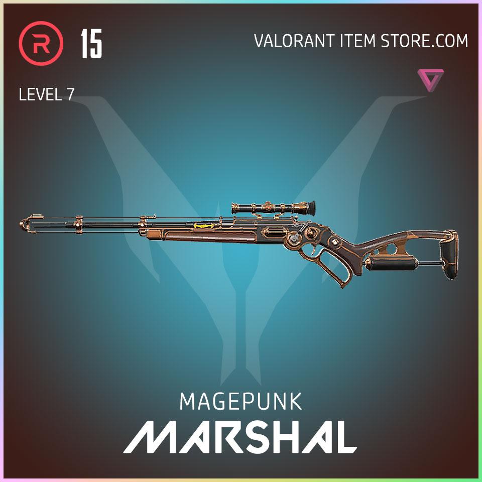 magepunk marshal valorant skin 7