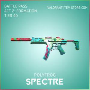 polyfrog spectre valorant skin battle pass