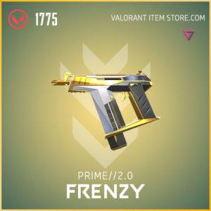 prime 2.0 frenzy valorant skin