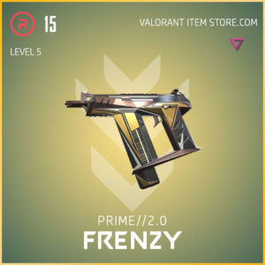 prime 2.0 frenzy valorant skin level 5