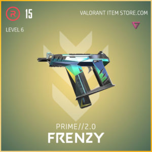 prime 2.0 frenzy valorant skin level 6