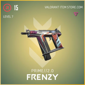 prime 2.0 frenzy valorant skin level 7