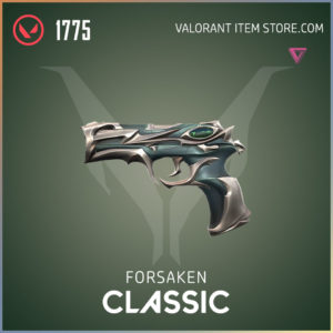 forsaken classic valorant skin