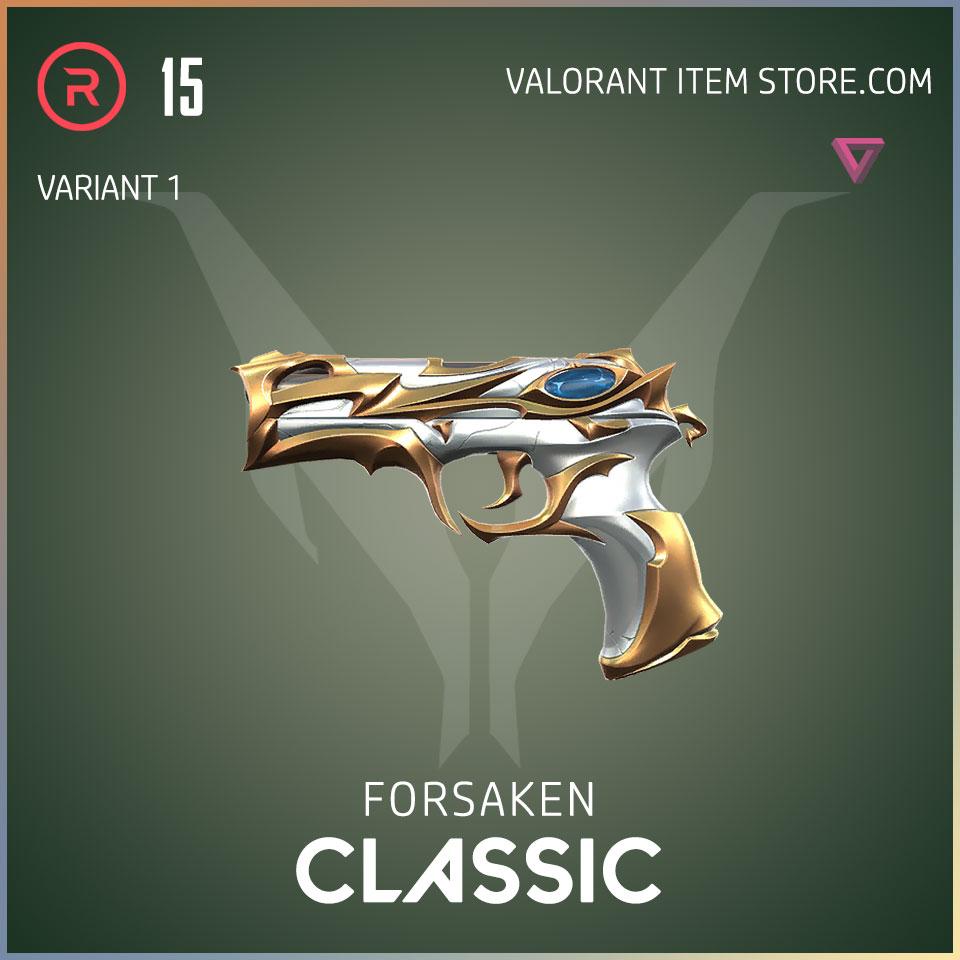 forsaken classic valorant skin variant 1
