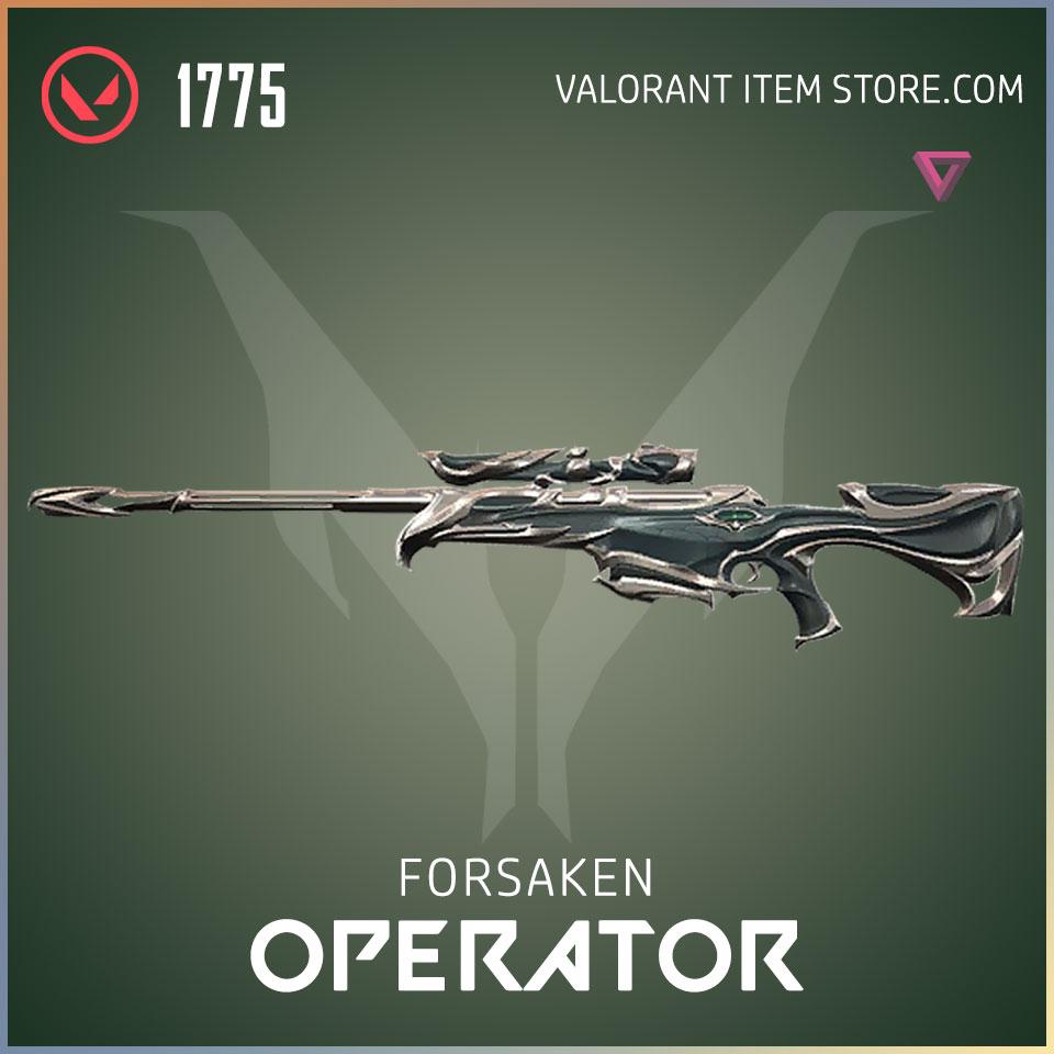 forsaken operator valorant skin