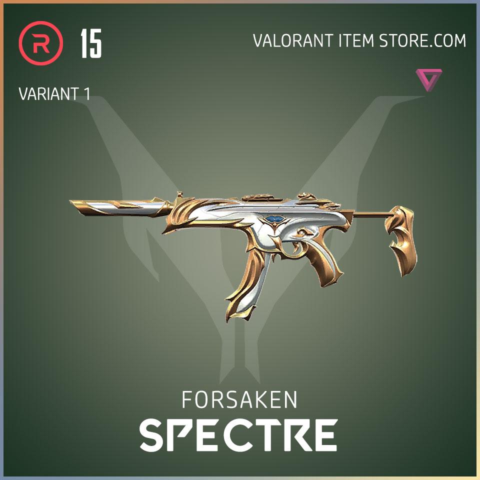 forsaken spectre valorant skin variant 1
