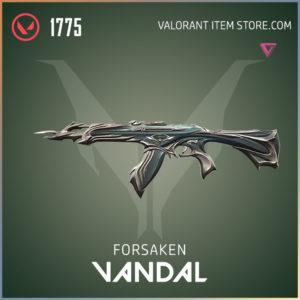 forsaken vandal valorant skin