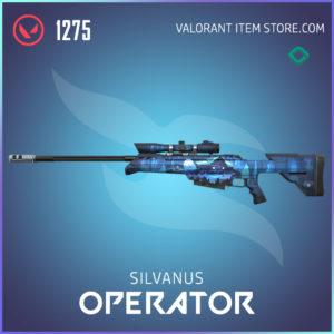 silvanus operator valorant skin