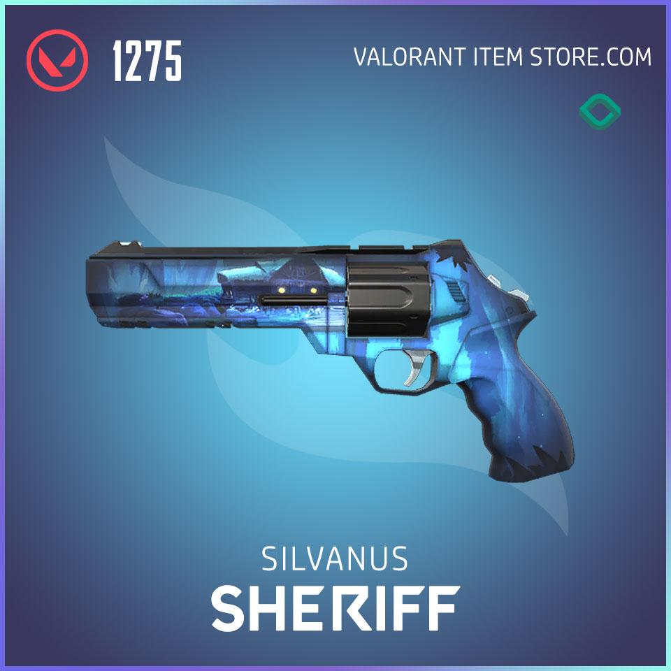 silvanus sheriff valorant skin