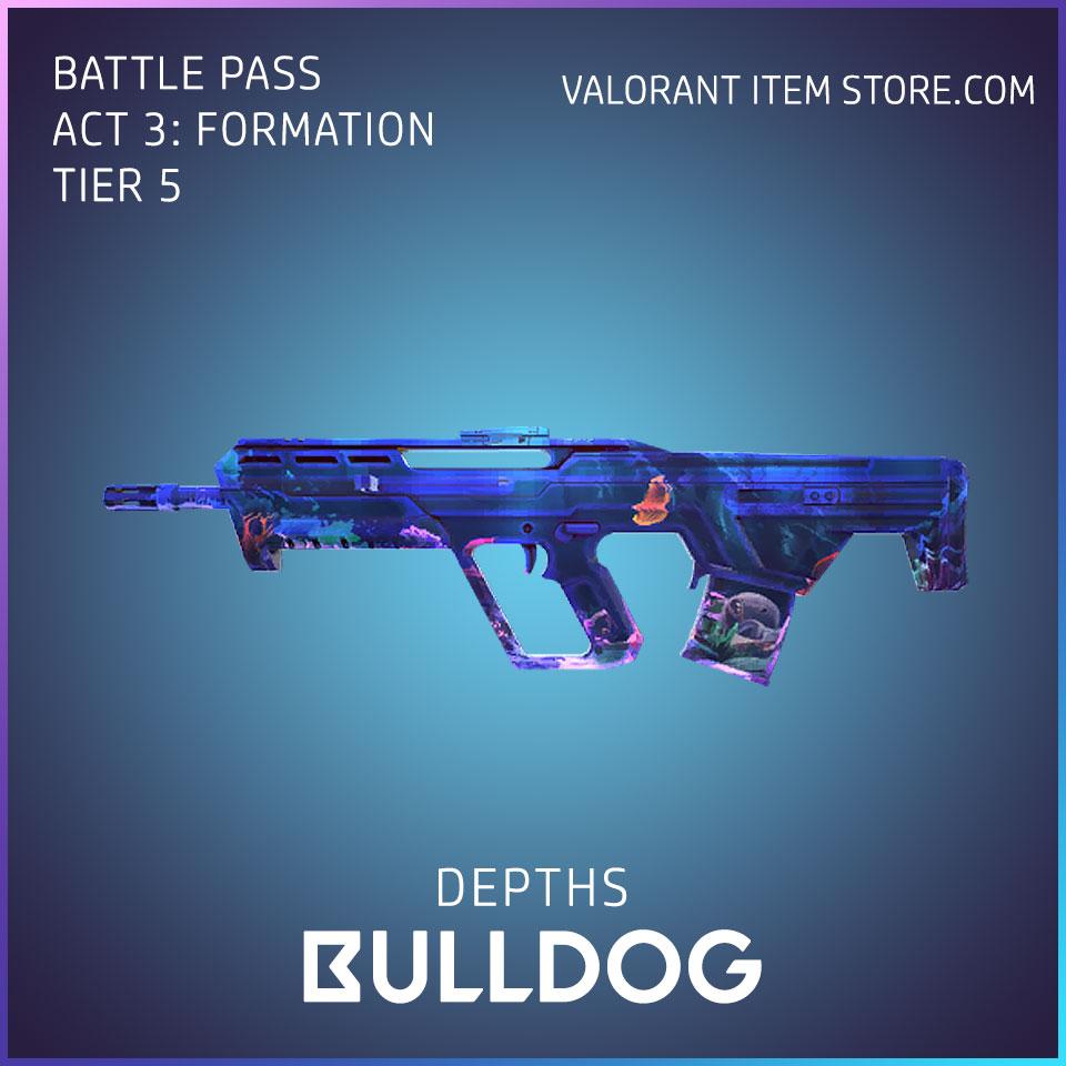 Depths Bulldog Valorant Skin Act 3 Formation