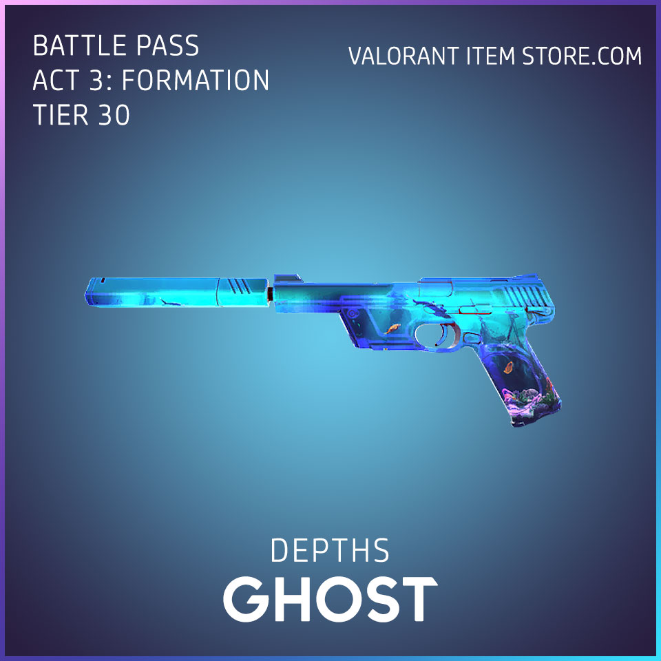 Depths Ghost Valorant Skin Act 3 Formation