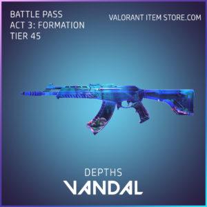 Depths Vandal Valorant Skin Act 3 Formation