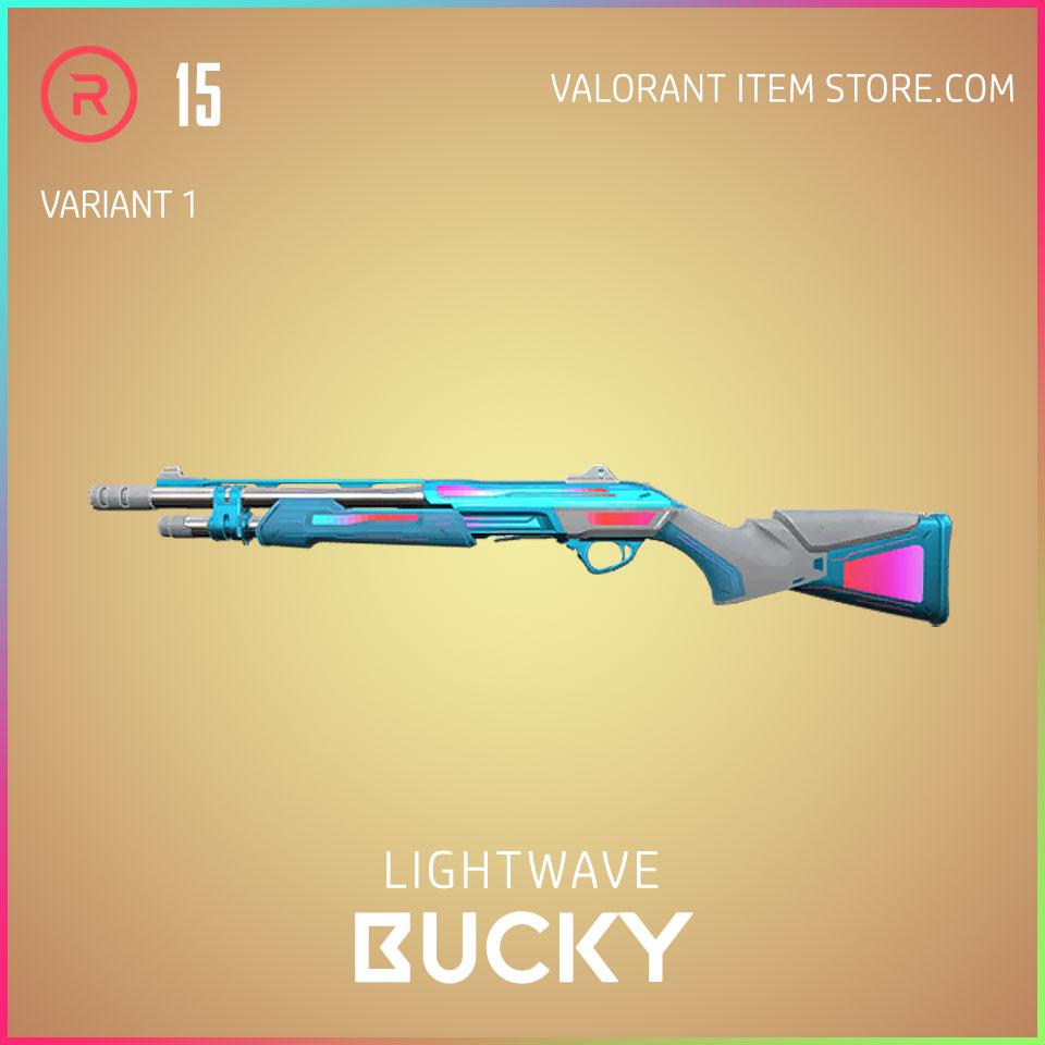 Lightwave Bucky Variant 1 Valorant Skin Act 3 Formation