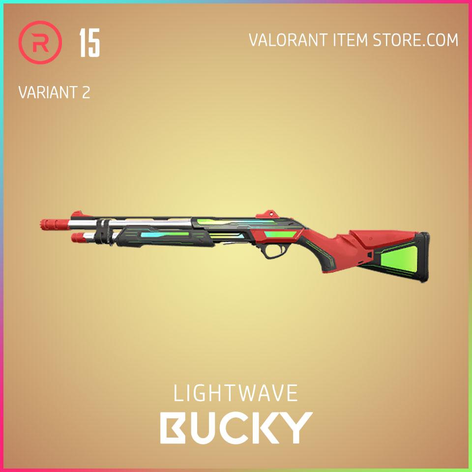 Lightwave Bucky Variant 2 Valorant Skin Act 3 Formation