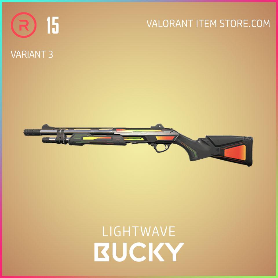 Lightwave Bucky Variant 3 Valorant Skin Act 3 Formation