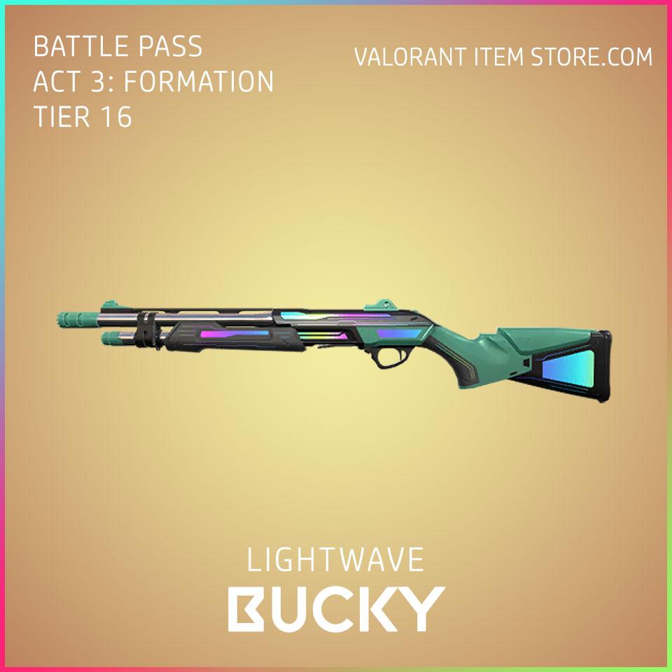 Lightwave Bucky Valorant Skin Act 3 Formation