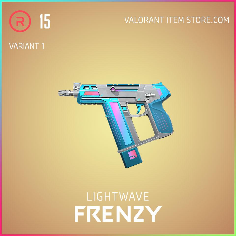 Lightwave Frenzy Variant 1 Valorant Skin Act 3 Formation