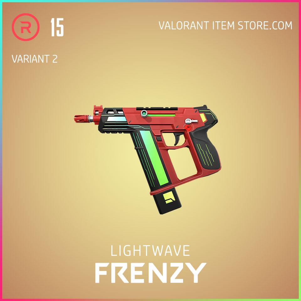 Lightwave Frenzy Variant 2 Valorant Skin Act 3 Formation