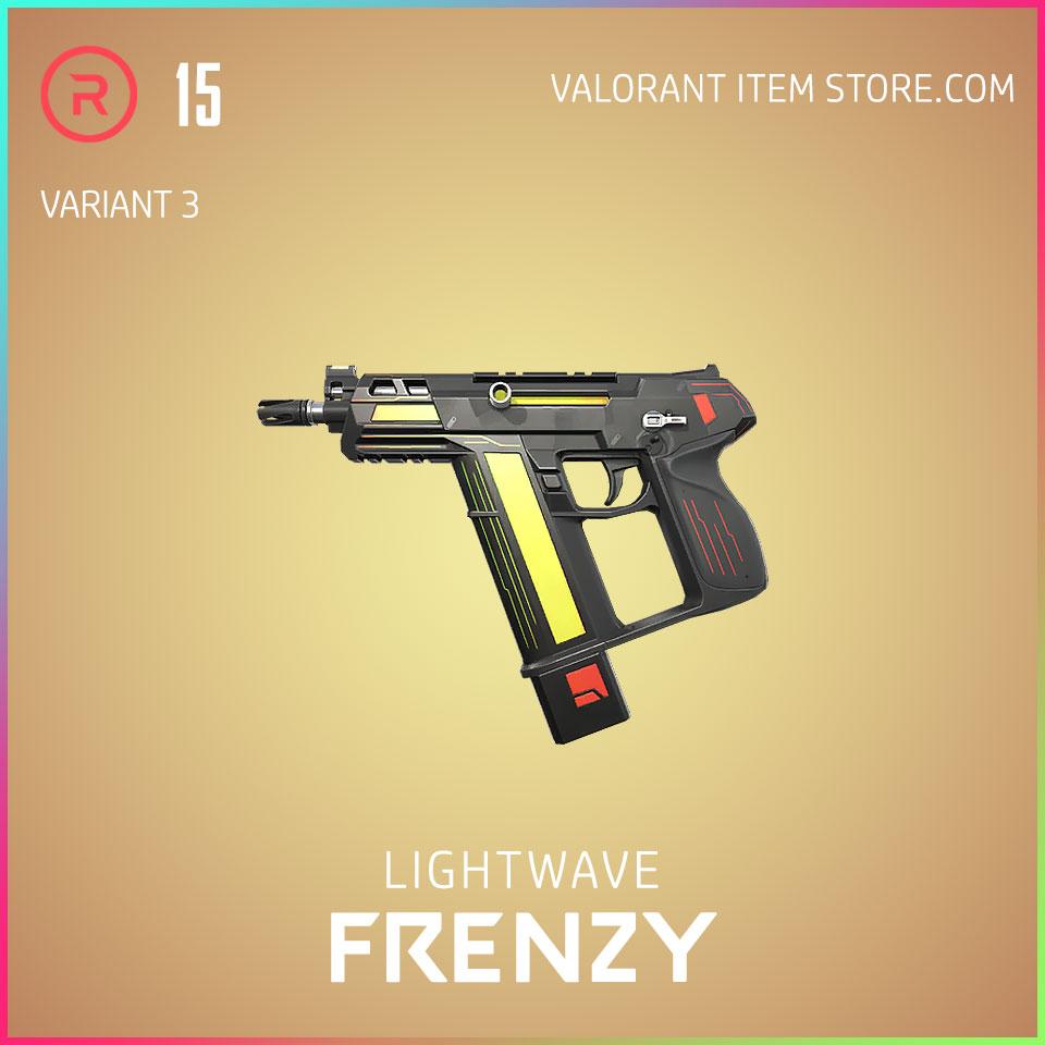 Lightwave Frenzy Variant 3 Valorant Skin Act 3 Formation