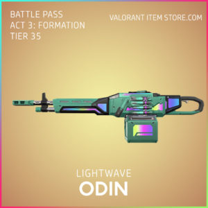 Lightwave Odin Valorant Skin Act 3 Formation