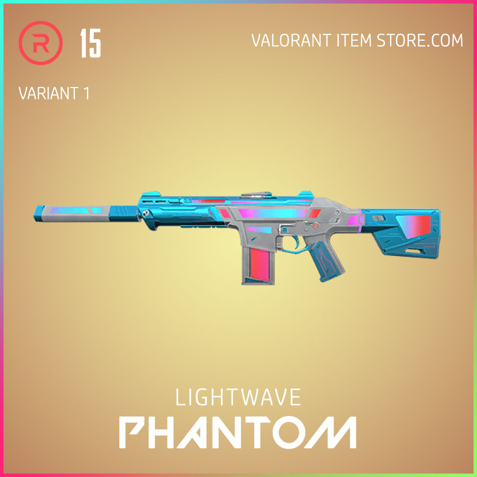 Lightwave Phantom Variant 1 Valorant Skin Act 3 Formation