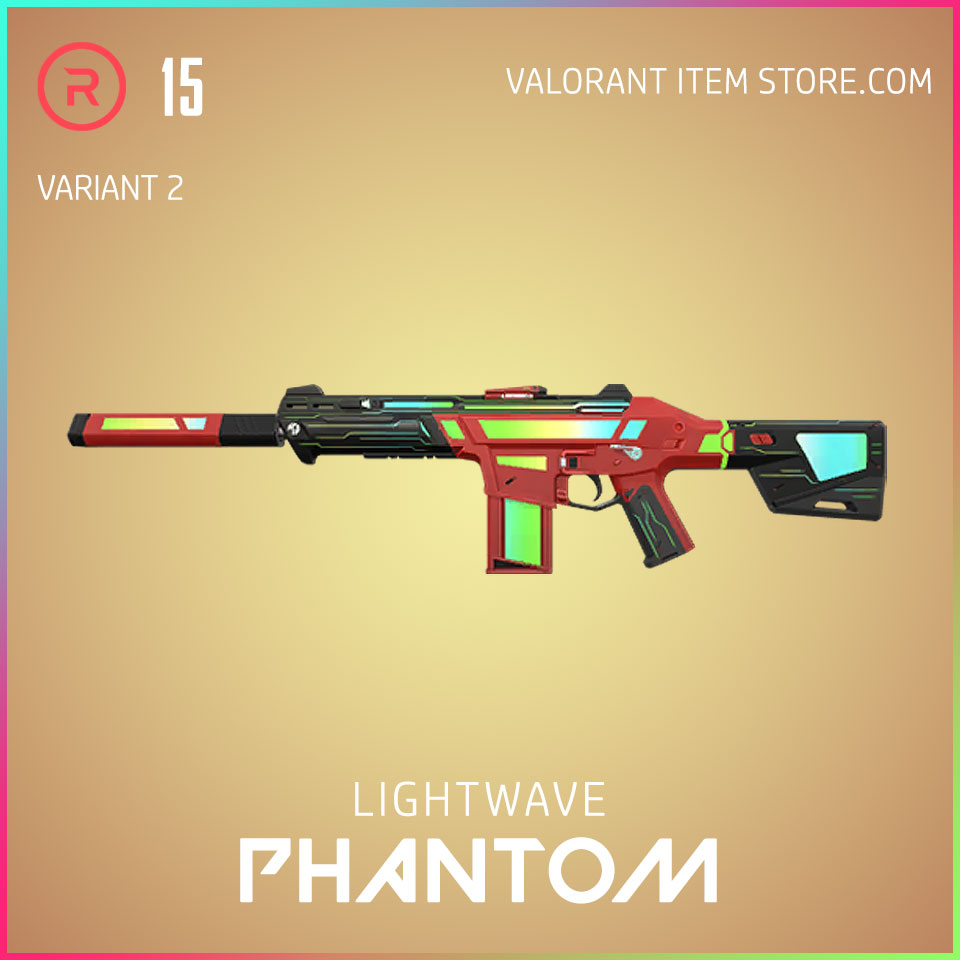 Lightwave Phantom Variant 2 Valorant Skin Act 3 Formation