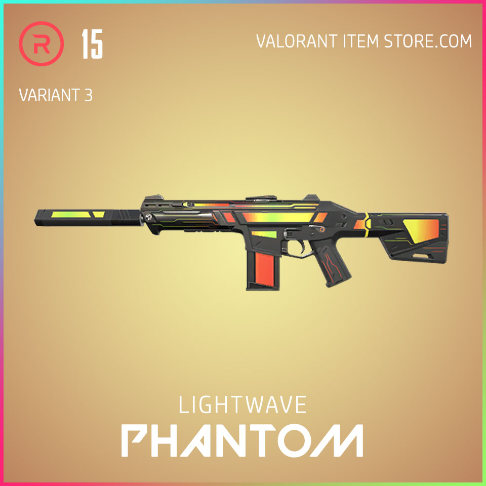 Lightwave Phantom Variant 3 Valorant Skin Act 3 Formation