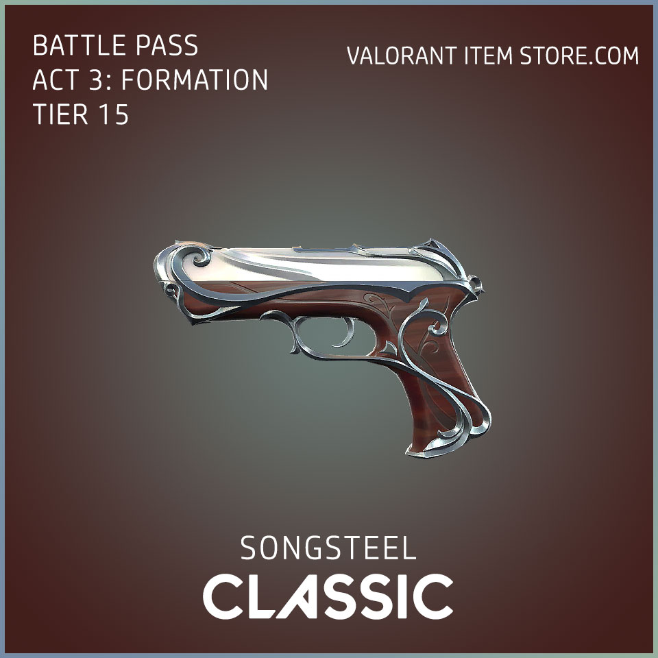 Songsteel Classic Valorant Skin Act 3 Formation