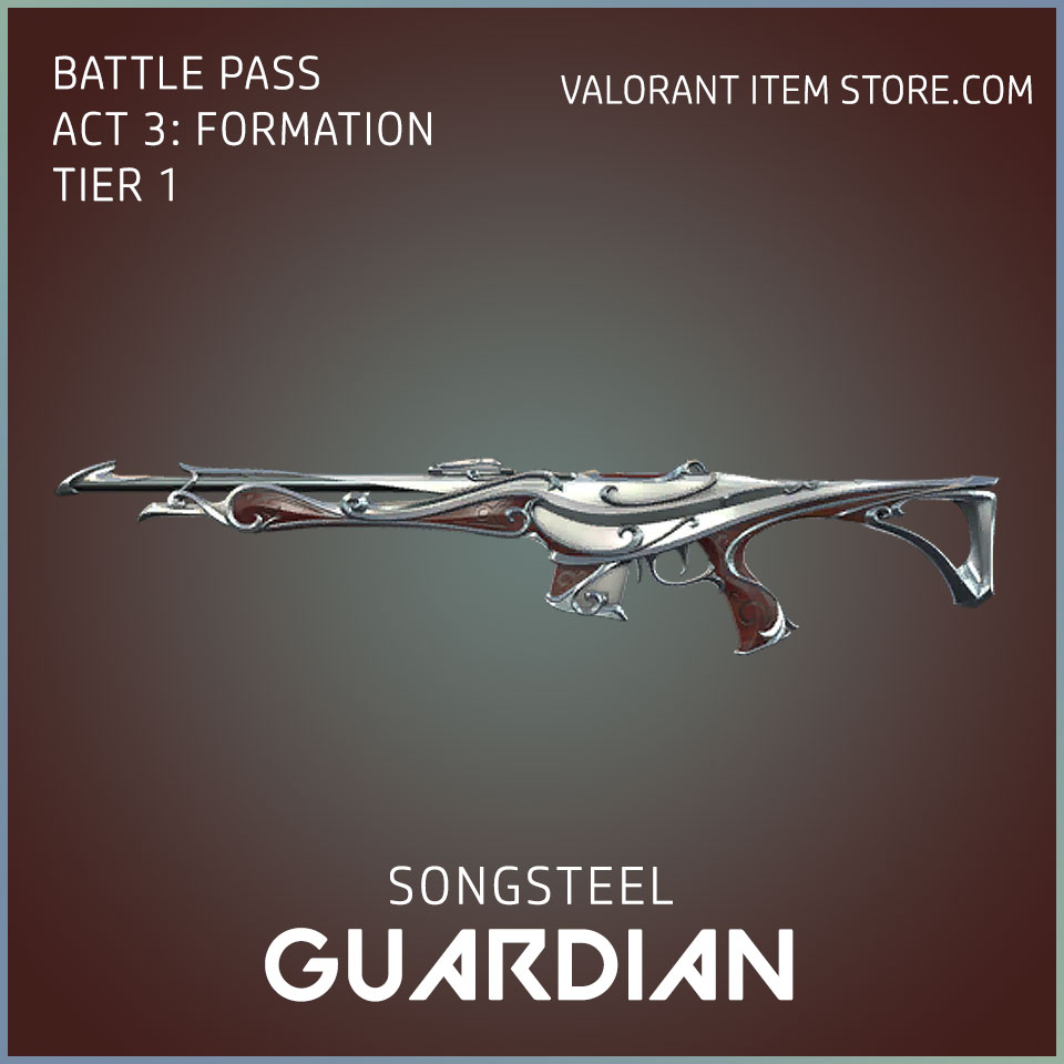 Songsteel Guardian Valorant Skin Act 3 Formation