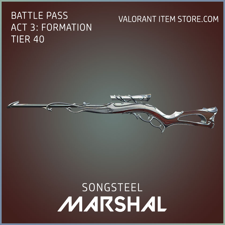 Songsteel Marshal Valorant Skin Act 3 Formation
