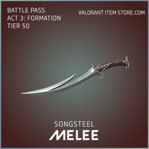 Songsteel Melee Valorant Skin Act 3 Formation