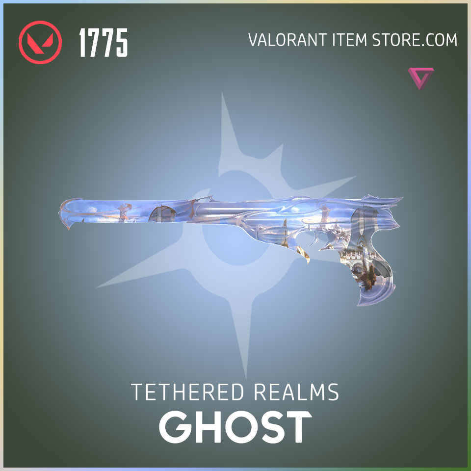 Tethered Realms Ghost Valorant Skin