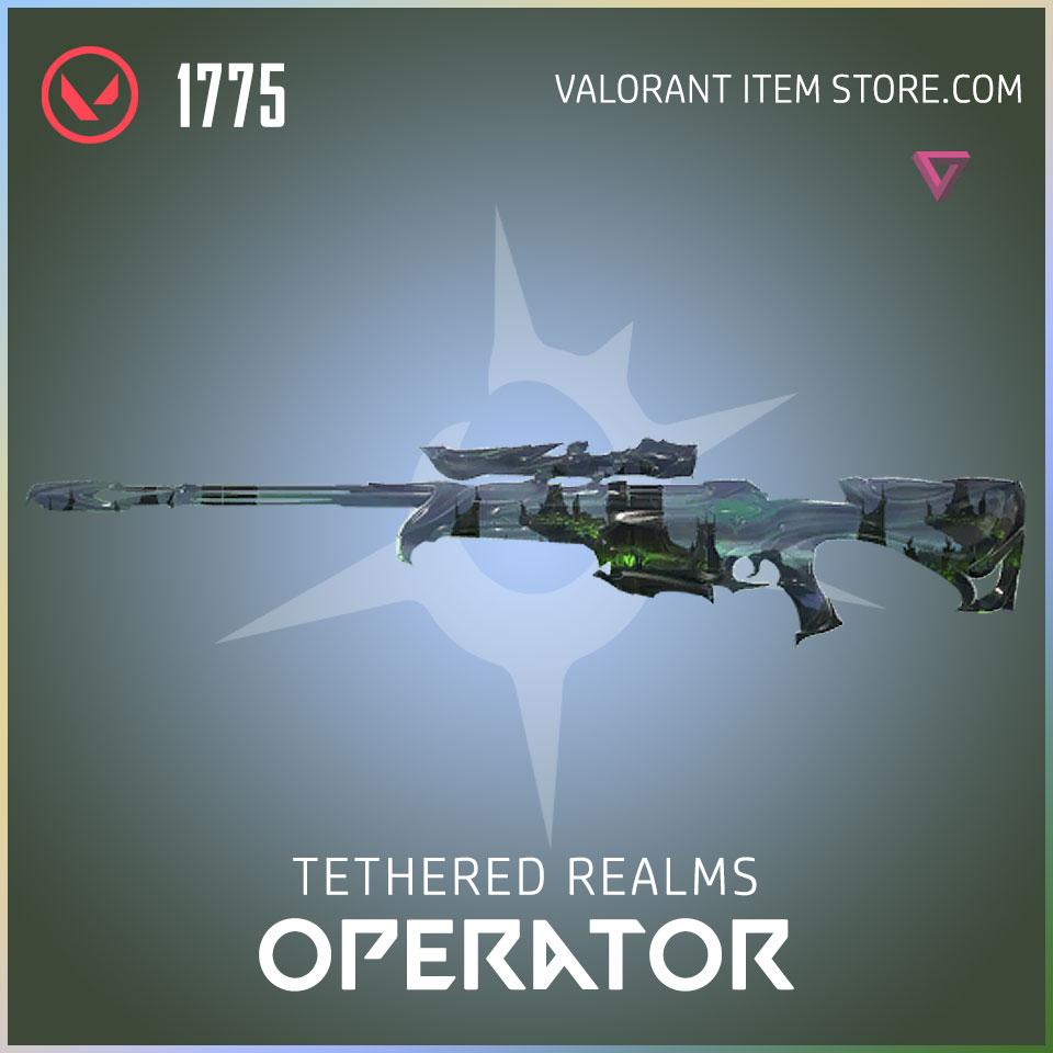 Tethered Realms Operator Valorant Skin