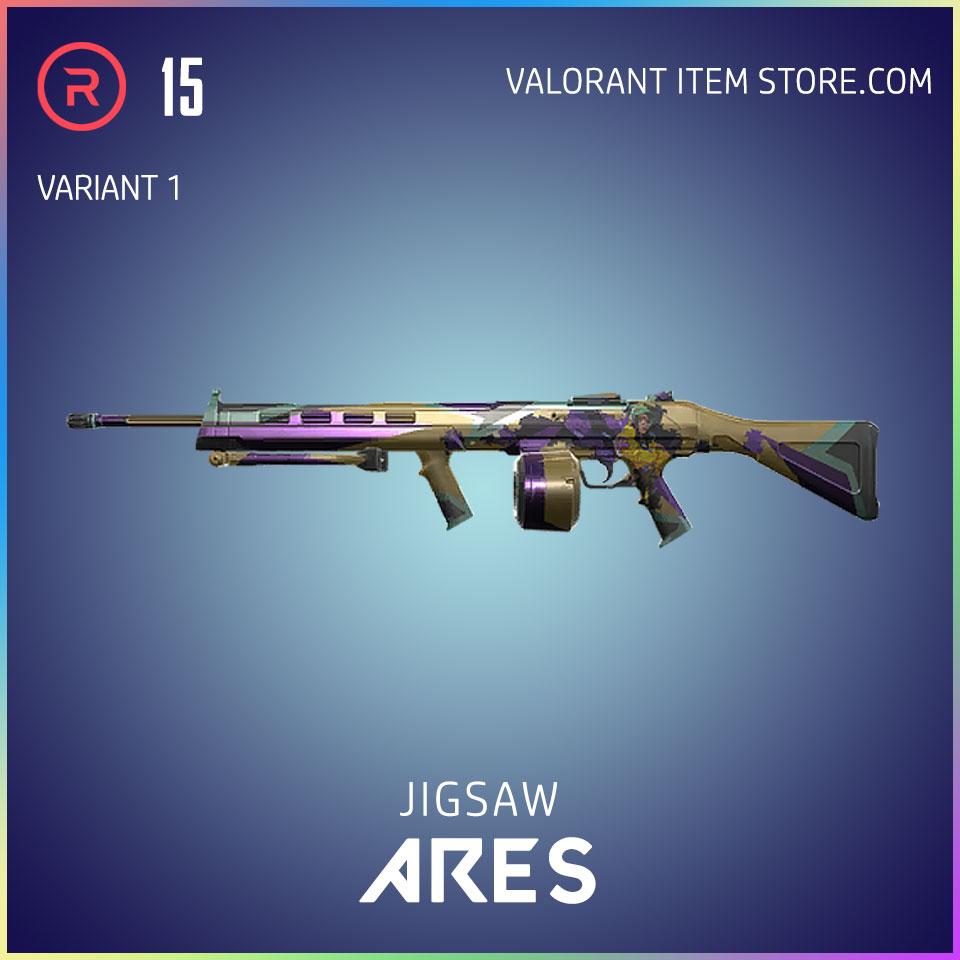 Jigsaw Ares Valorant Battlepass Tier 5 Reflection act 1 variant 1