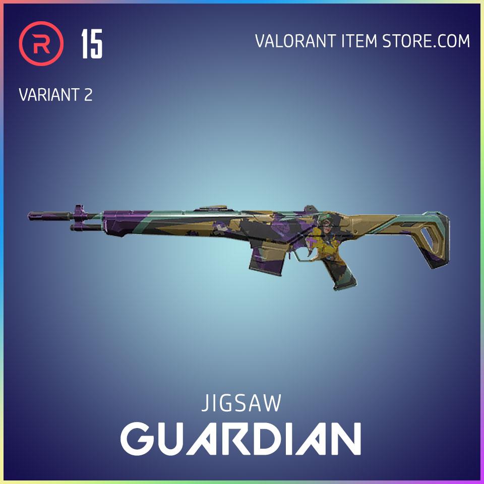 Jigsaw Guardian Valorant Battlepass Tier 35 Reflection act 1 variant 2