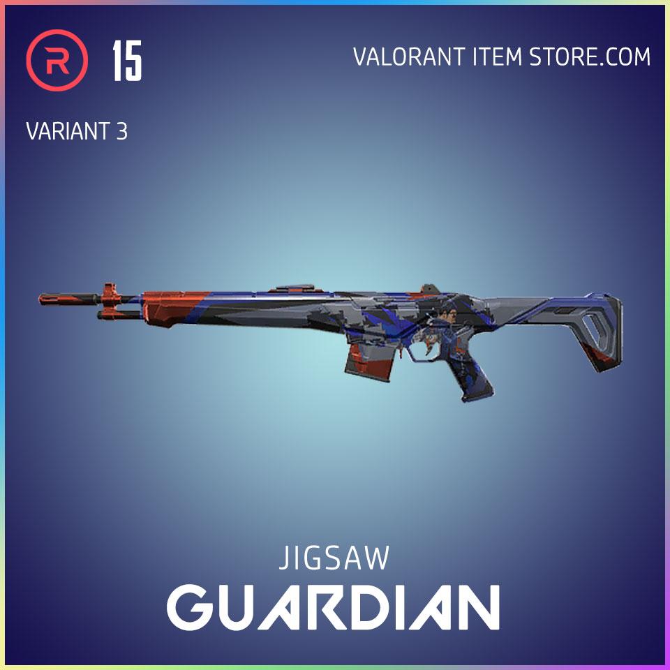 Jigsaw Guardian Valorant Battlepass Tier 35 Reflection act 1 variant 3