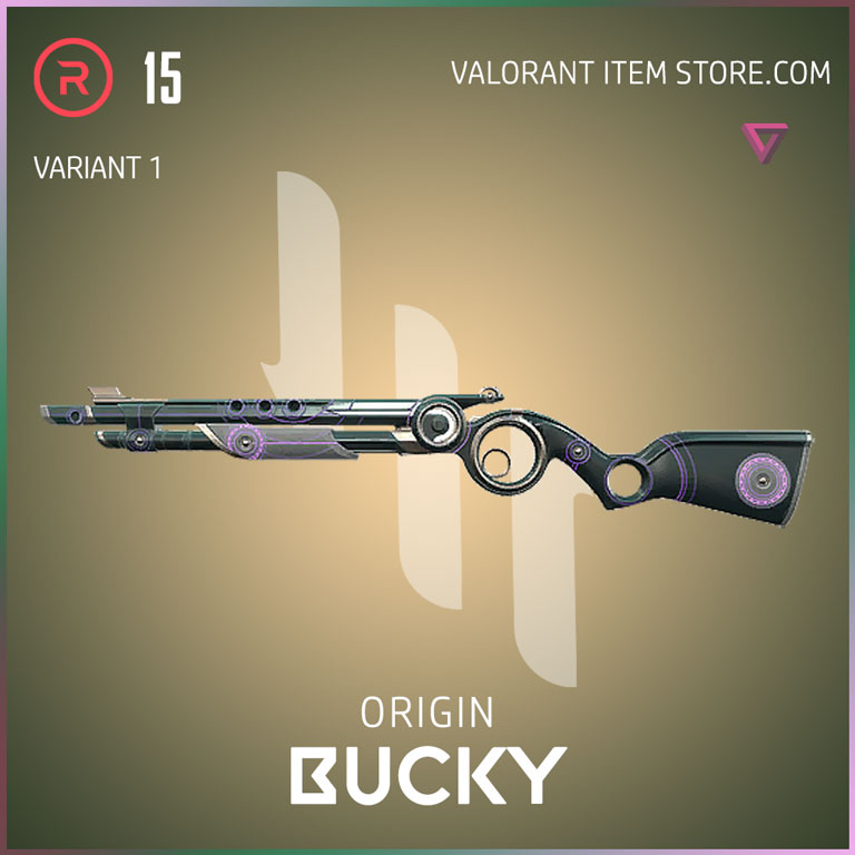 Origin Bucky Variant 1 Valorant Skin