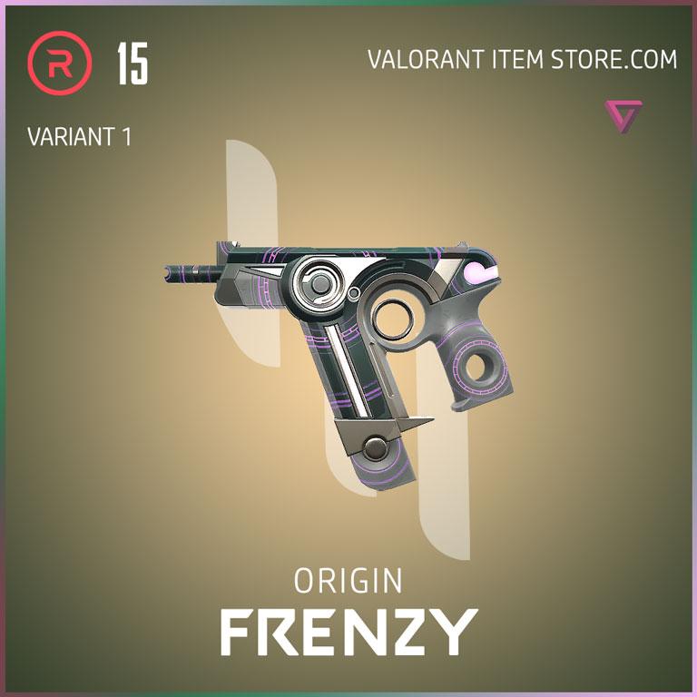 Origin Frenzy Variant 1 Valorant Skin