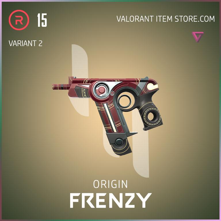 Origin Frenzy Variant 2 Valorant Skin