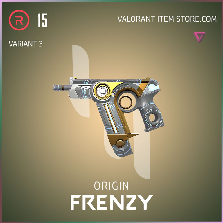 Origin Frenzy Variant 3 Valorant Skin
