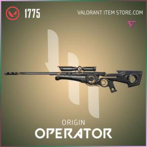 Origin Operator Valorant Skin