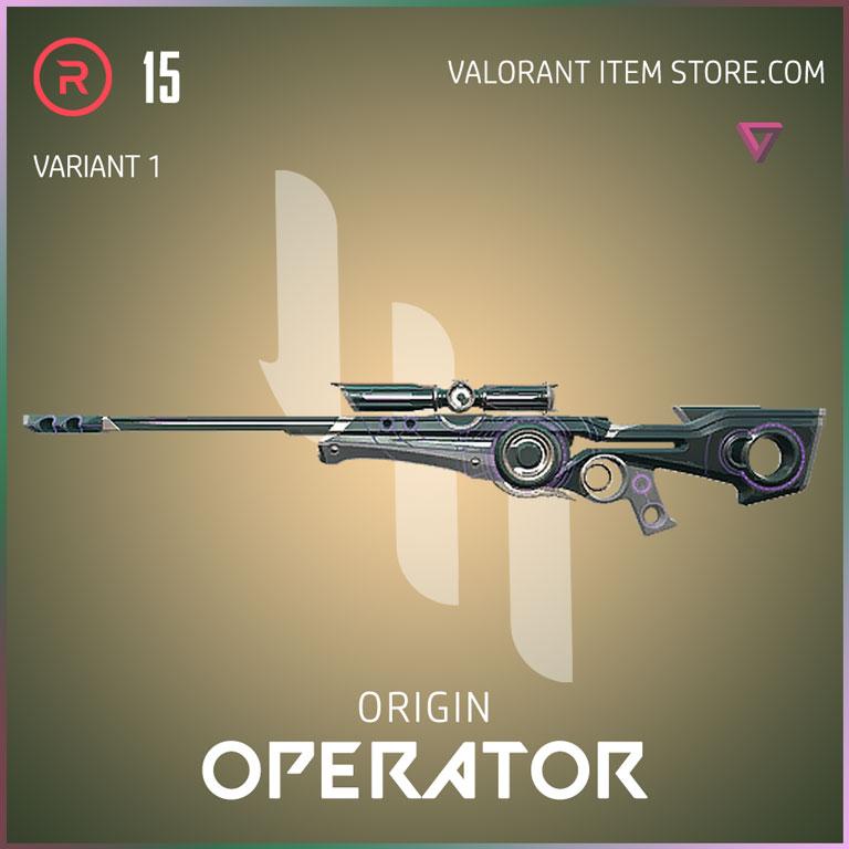 Origin Operator Variant 1 Valorant Skin