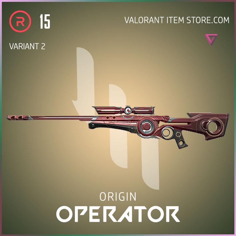 Origin Operator Variant 2 Valorant Skin