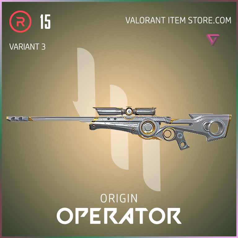 Origin Operator Variant 3 Valorant Skin