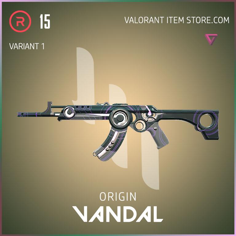Origin Vandal Variant 1 Valorant Skin