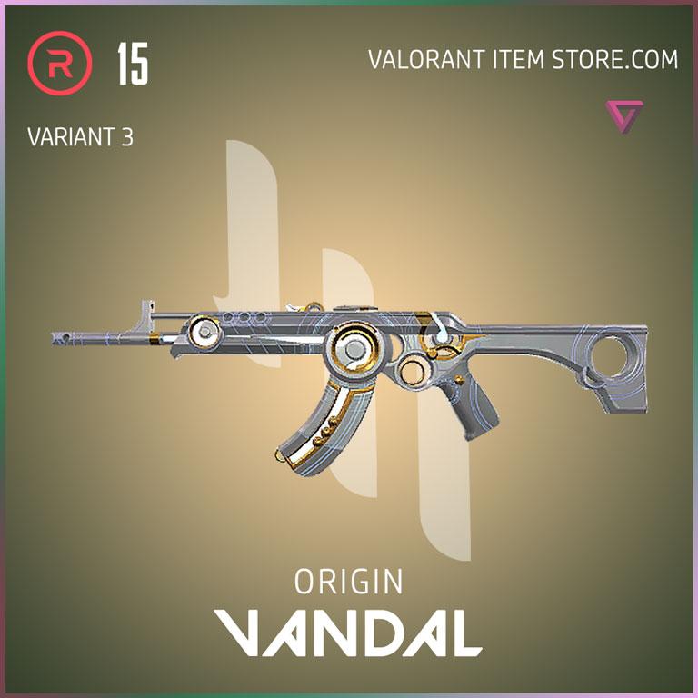 Origin Vandal Variant 3 Valorant Skin