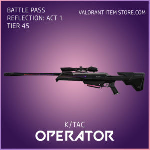k/tac operator valorant battle pass reflection act 1 tier 45