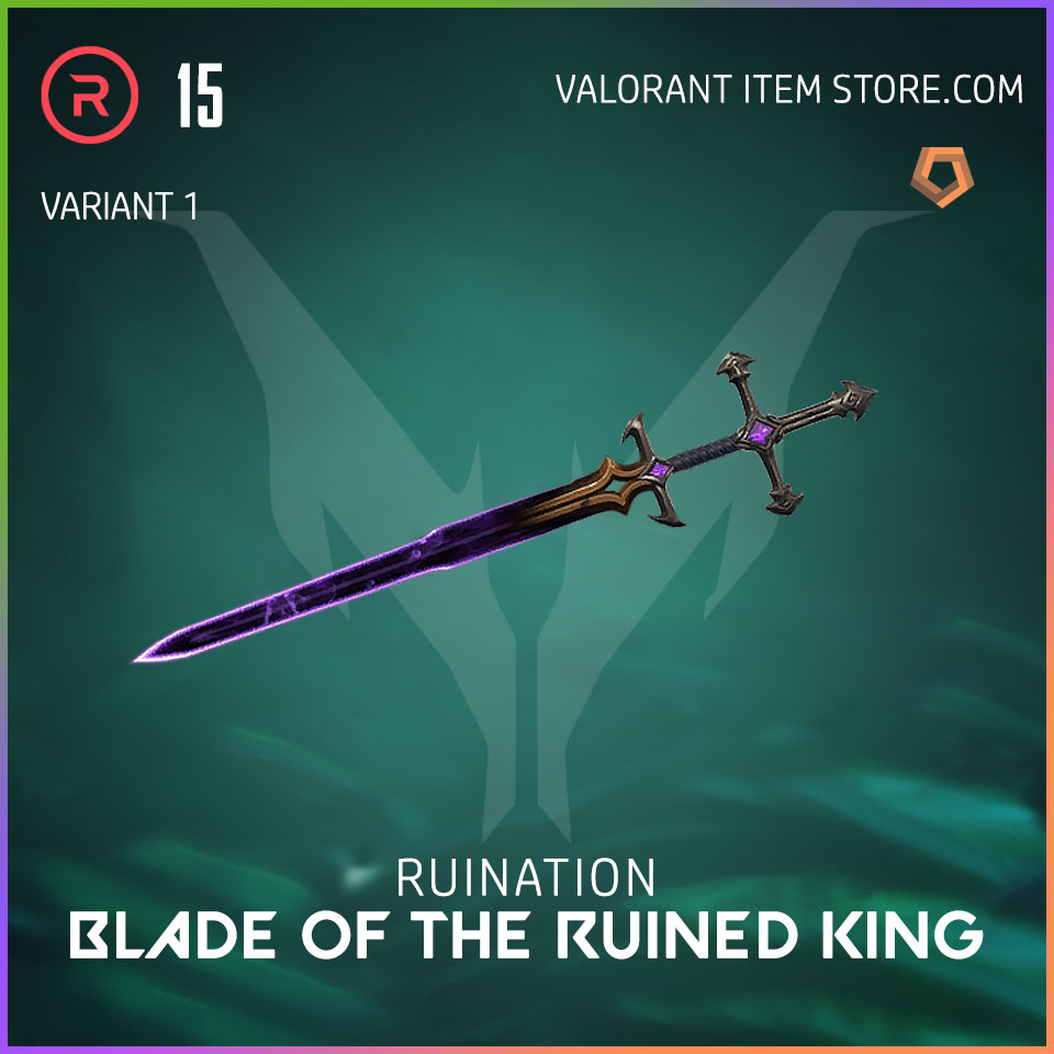 Ruination Blade of the Ruined King Valorant Skin variant 1